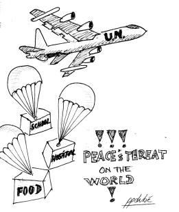 peace's threat