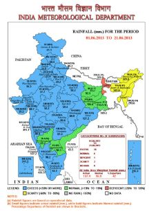 India rainfall daily